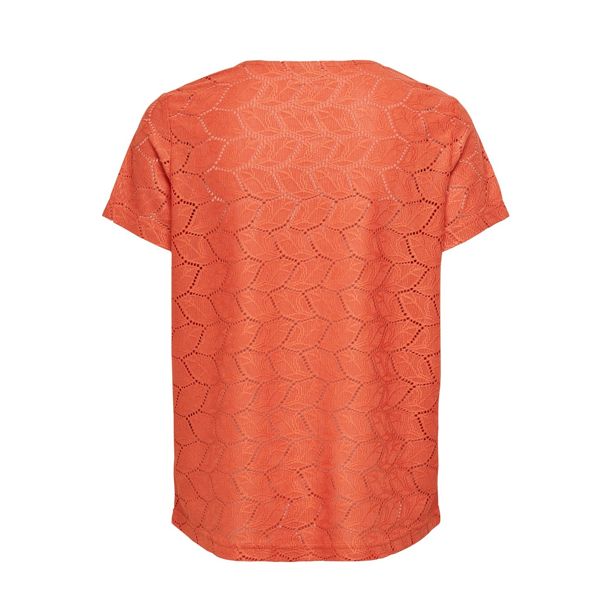 jdytag s/s lace top jrs rpt2 noos 15152331 jacqueline de yong t-shirt chilli