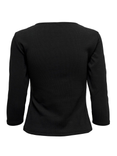 onlmira life 3/4 top jrs 15199554 only t-shirt black