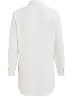 vilucy button  l/s tunic - noos 14054702 vila tuniek snow white