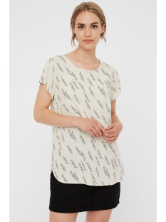 Vero Moda T-shirt VMBOCA SS BLOUSE MULTI AOP 10132802 Birch/GUNHILD