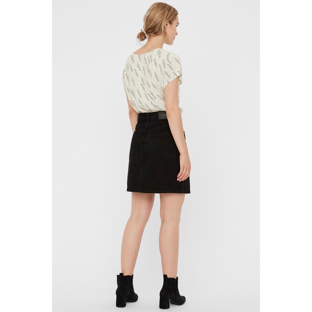 vmboca ss blouse multi aop 10132802 vero moda t-shirt birch/gunhild