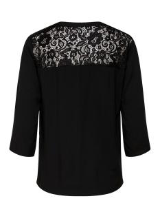 jdyraymond 7/8  lace top wvn noos 15194025 jacqueline de yong blouse black