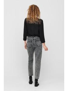 jdyraymond 7/8  lace top wvn noos 15194025 jacqueline de yong t-shirt black