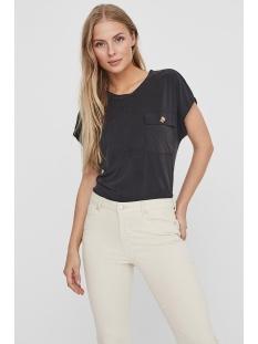 Noisy may T-shirt NMDENNY S/S POCKET  TOP 27011932 Black