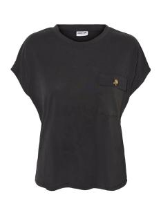 nmdenny s/s pocket  top 27011932 noisy may t-shirt black