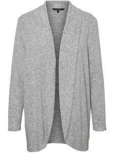 Vero Moda Vest VMTAMMI NEW L/S OPEN CARDIGAN EXP 10230656 Light Grey Melange