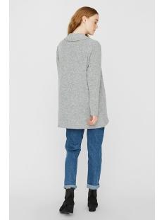 vmtammi new l/s open cardigan exp 10230656 vero moda vest light grey melange