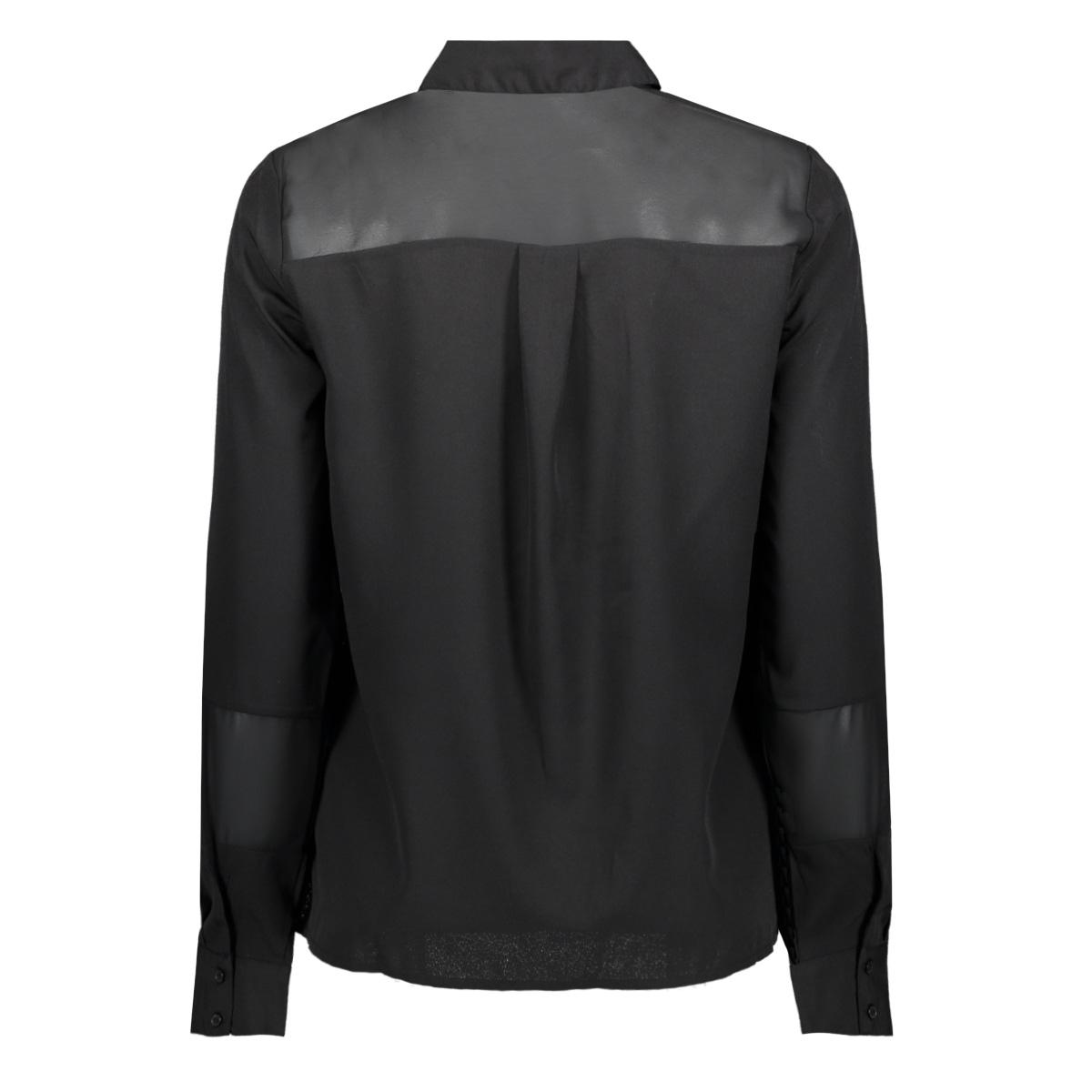 vmindie ls shirt wvn 10227565 vero moda blouse black