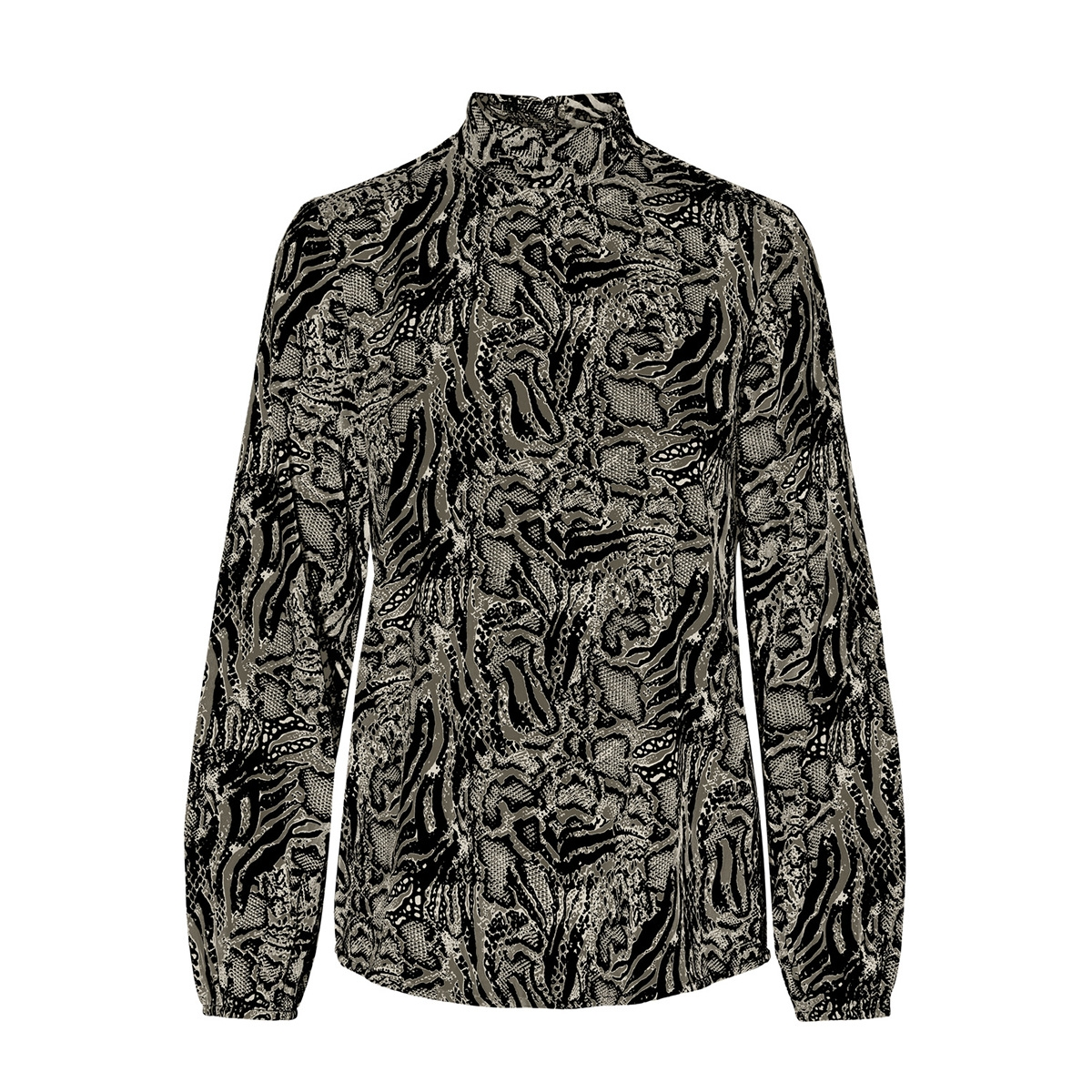 vmdagmar ls top wvn  lcs 10230330 vero moda blouse ivy green/dagmar