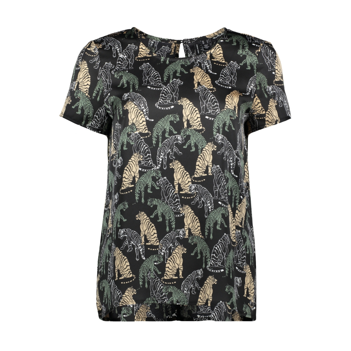 vmlotus s/s top vip 10234734 vero moda t-shirt nomad/lotus
