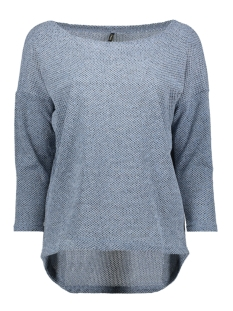 Only Trui ONLALBA 3/4 TOP JRS NOOS 15177776 Blue Fog
