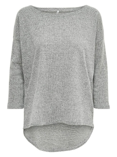 Only Trui ONLALBA 3/4 TOP JRS NOOS 15177776 Light Grey Melange