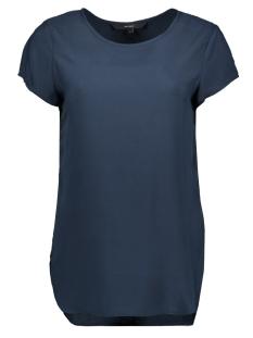 Vero Moda T-shirt BOCA SS BLOUSE NOOS 10104030 Navy Blazer