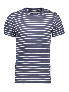 Jack & Jones T-shirt JJESTRIPED TEE SS CREW NECK STS 12164640 Navy Blazer/SLIM