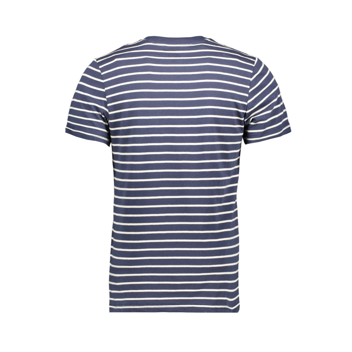 jjestriped tee ss crew neck sts 12164640 jack & jones t-shirt navy blazer/slim