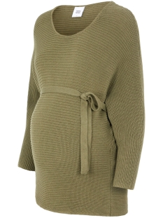 Mama-Licious Positie trui MLVACA 3/4 KNIT TOP A. 20009011 Dusty Olive