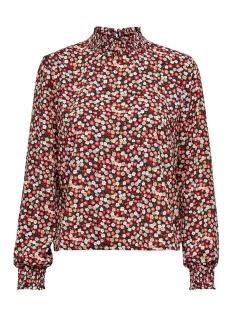 Only T-shirt ONLIRAH LS SMOCK TOP WVN 15206488 Night Sky/DITSY