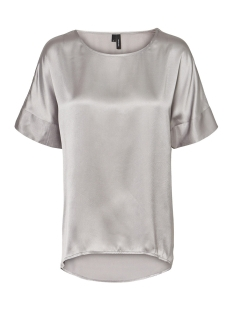 Vero Moda T-shirt VMJESSICA 2/4 TOP SB1 10228384 Silver Sconce