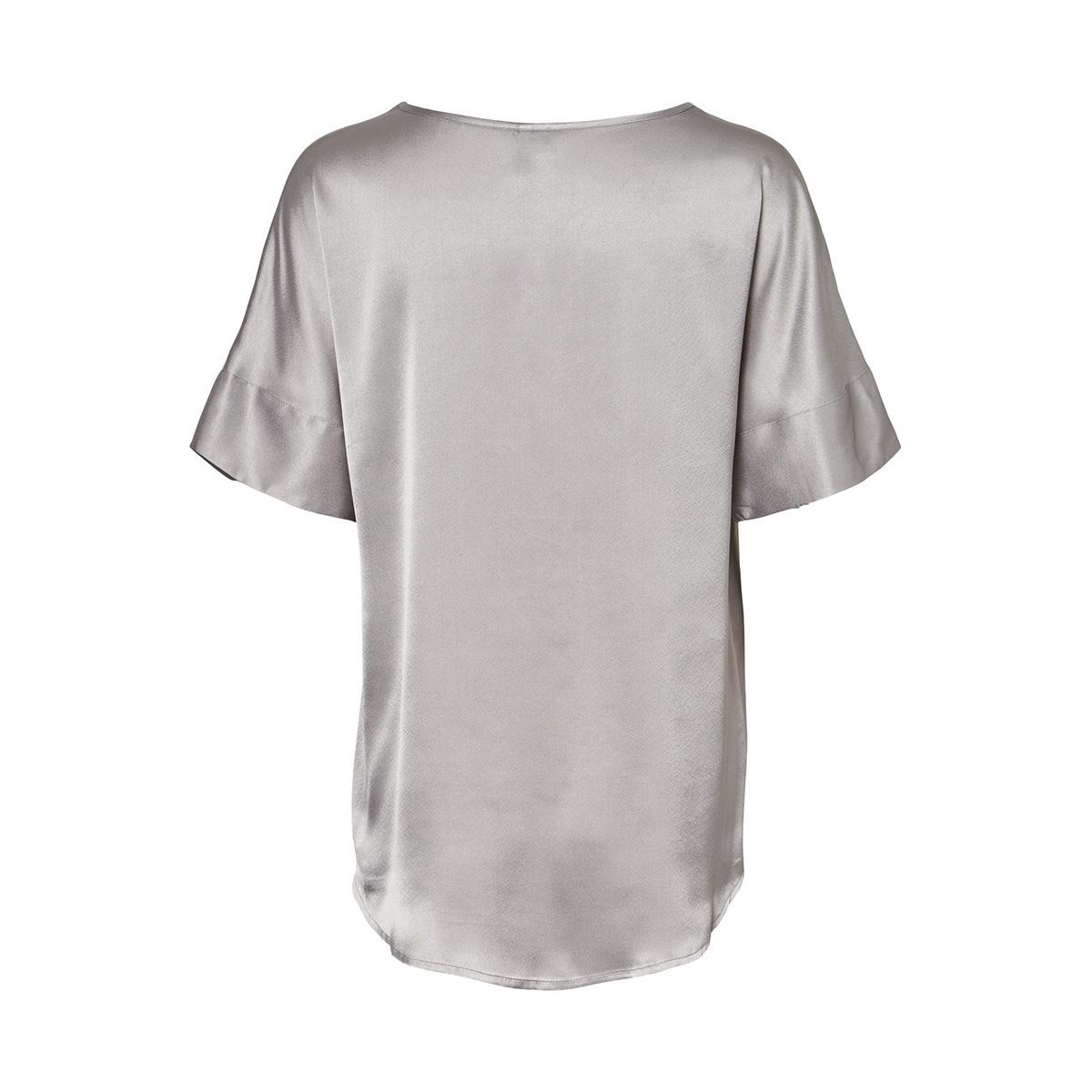 vmjessica 2/4 top sb1 10228384 vero moda t-shirt silver sconce