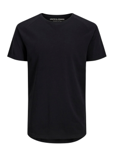 Jack & Jones T-shirt JJECURVED TEE SS O-NECK NOOS 12164936 Black/REG