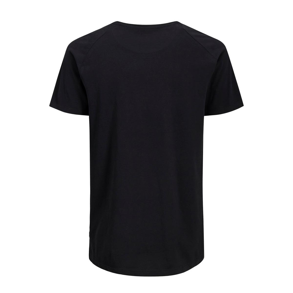 jjecurved tee ss o-neck noos 12164936 jack & jones t-shirt black/reg