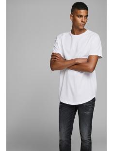 Jack & Jones T-shirt JJECURVED TEE SS O-NECK NOOS 12164936 White/REG