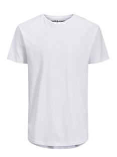 jjecurved tee ss o-neck noos 12164936 jack & jones t-shirt white/reg