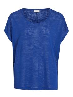 Vila T-shirt VISUMI S/S TOP - FAV 14045223 Mazarine Blue