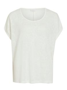 Vila T-shirt VISUMI S/S TOP - FAV 14045223 Snow White