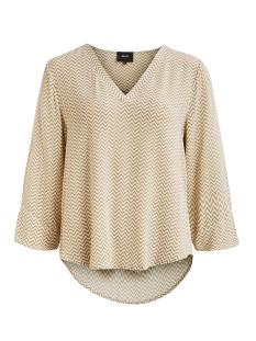 objbay 3/4 top aop seasonal 23028469 object t-shirt incense/white zigz