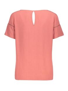 vimero detail s/s top/su - fav 14055957 vila t-shirt dusty cedar
