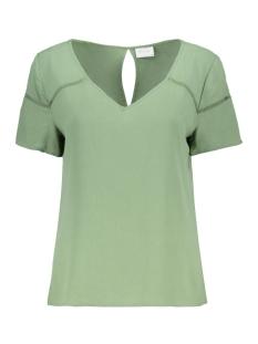 Vila T-shirt VIMERO DETAIL S/S TOP/SU - FAV 14055957 Loden Frost