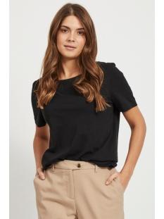 Vila T-shirt VISUS O-NECK S/S T-SHIRT/SU - NOOS 14054437 Black