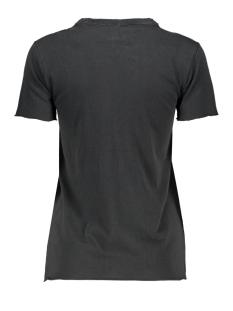 onllucy life reg s/s stranger top j 15213077 only t-shirt black/pink rock