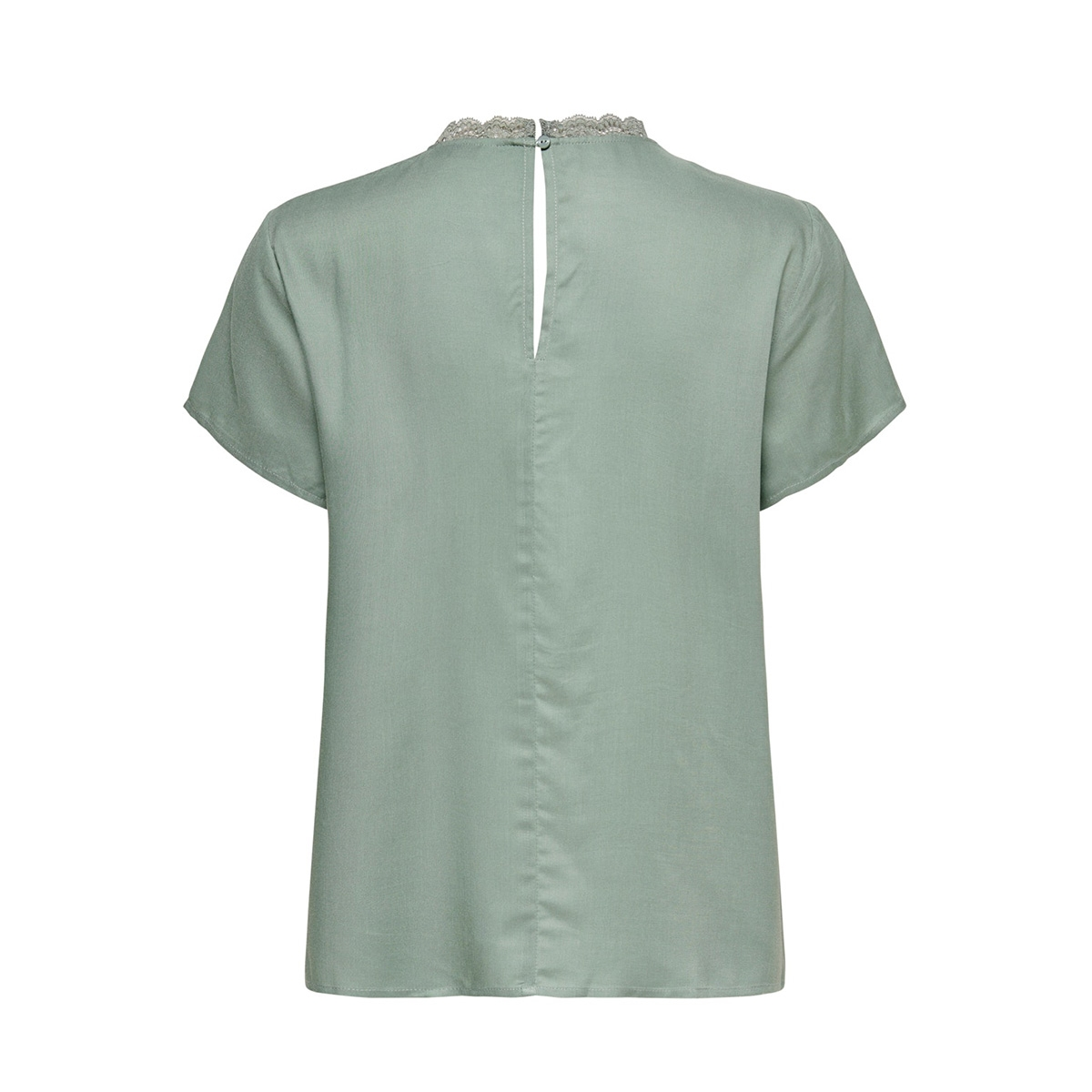 onlfirst ss lace top noos wvn 15191412 only t-shirt chinois green