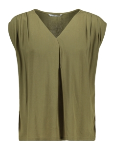 Only Top ONLROBERTA S/S V-NECK TOP WVN 15197203 Martini Olive