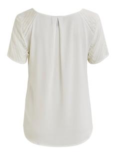 objzoe s/s v-neck top noos 23030990 object t-shirt gardenia