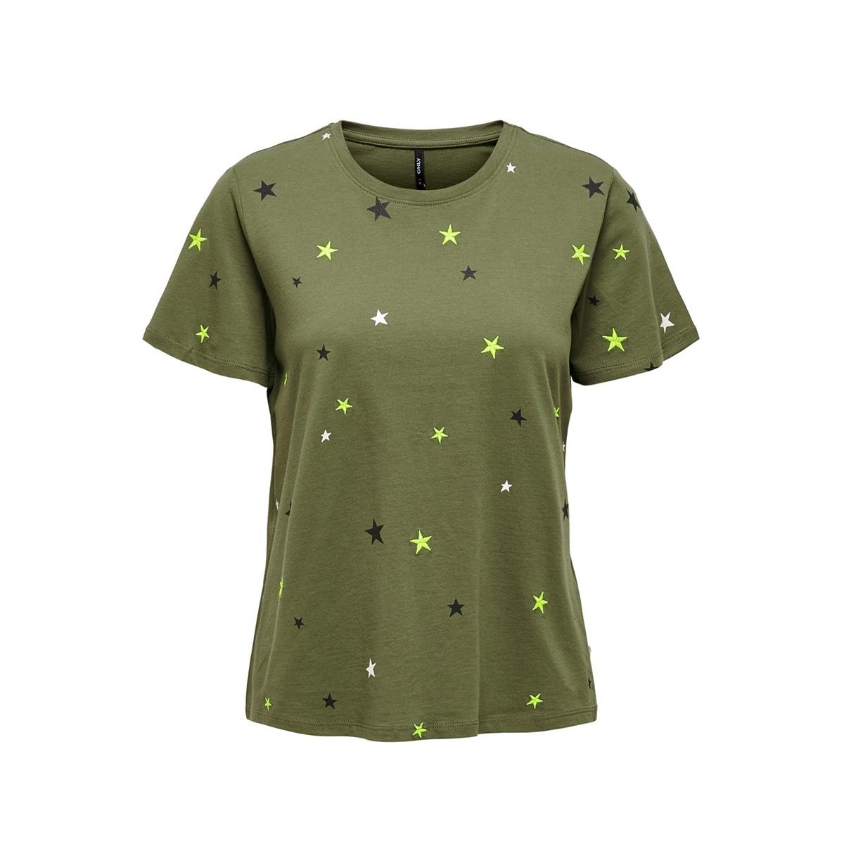 onlkita s/s star/dot top box jrs 15218041 only t-shirt kalamata/star