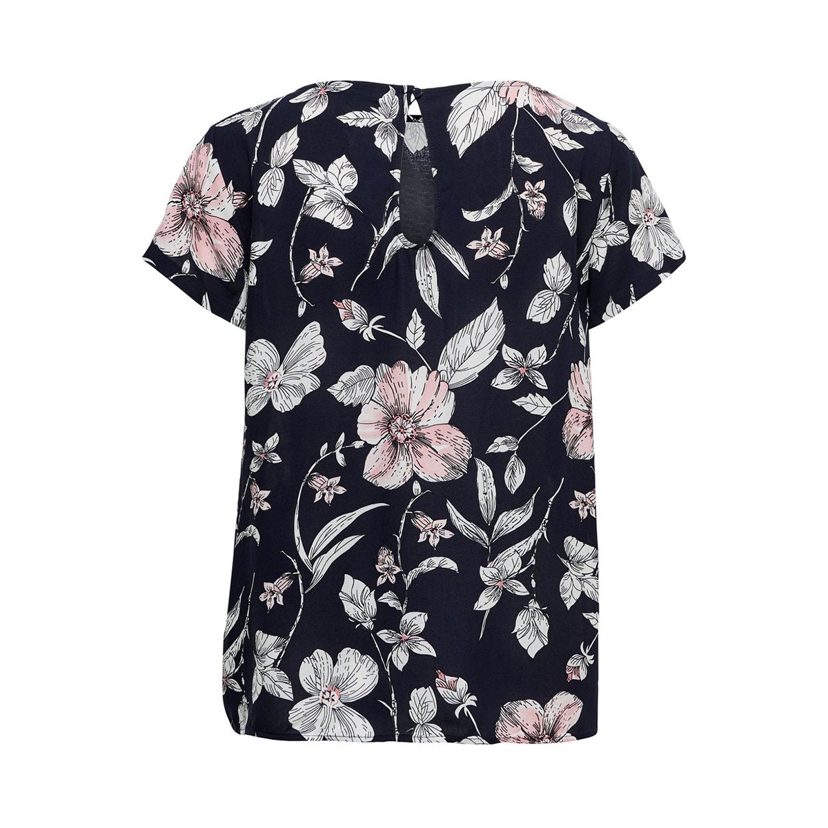 onlfirst one life ss aop top noos w 15198608 only t-shirt night sky/flower lea