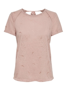 onlstephi s/s top jrs 15198863 only t-shirt rose smoke/rose gold