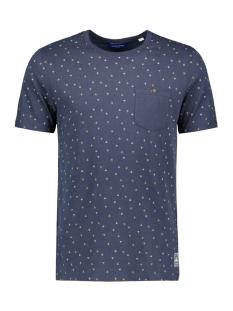 Jack & Jones T-shirt JORTONNE TEE SS CREW NECK 12168916 Navy blazer/slim