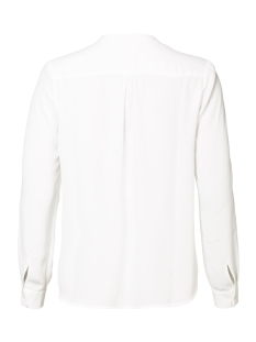 blouse solid with smock detail 93504 geisha blouse off-white