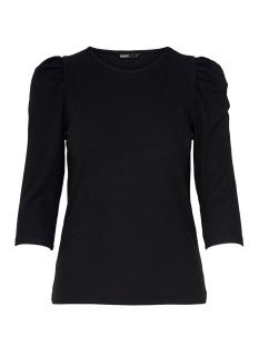 Only T-shirt ONLJULIA 3/4 PUFF TOP JRS 15216694 Black