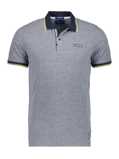 Jack & Jones Polo JORSUNSCREEN POLO SS 12168913 Navy Blazer/SNOW MELAN