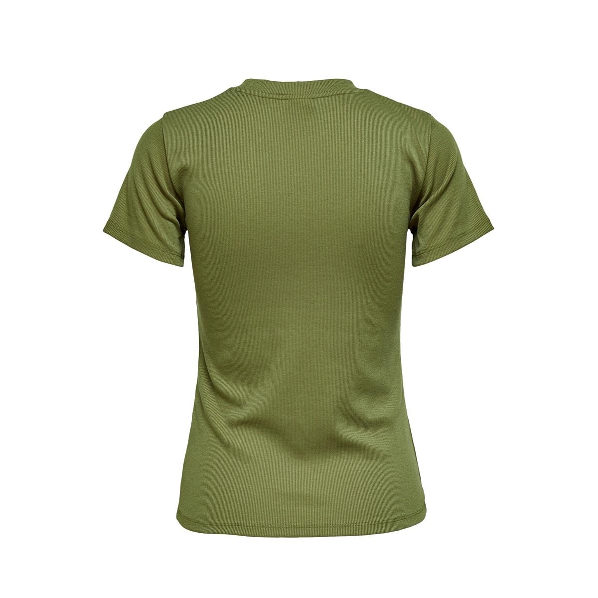 jdykissa s/s top jrs 15200591 jacqueline de yong t-shirt martini olive