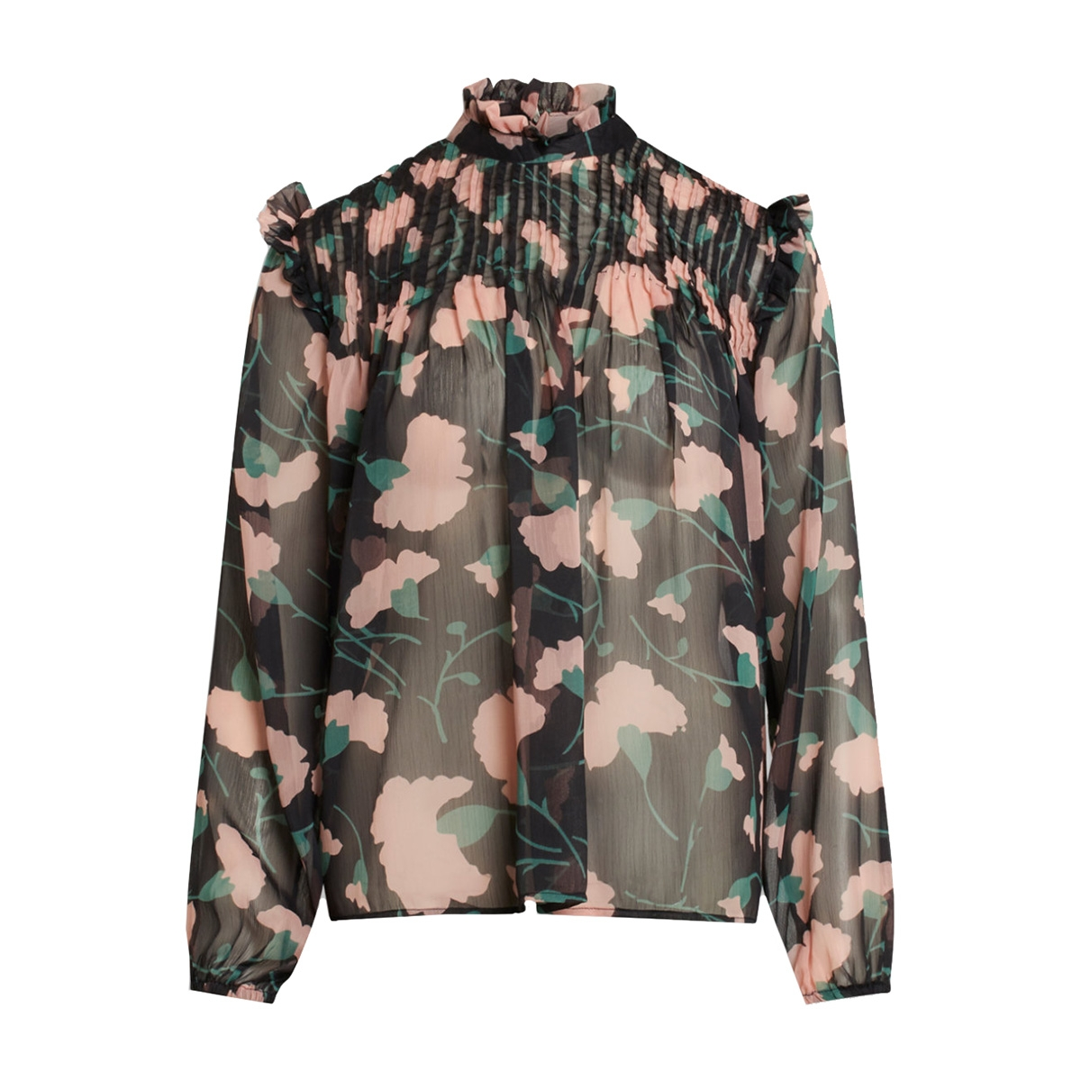 aima ls1 sisters point blouse big flower