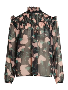 SisterS point Blouse AIMA LS1 BIG FLOWER
