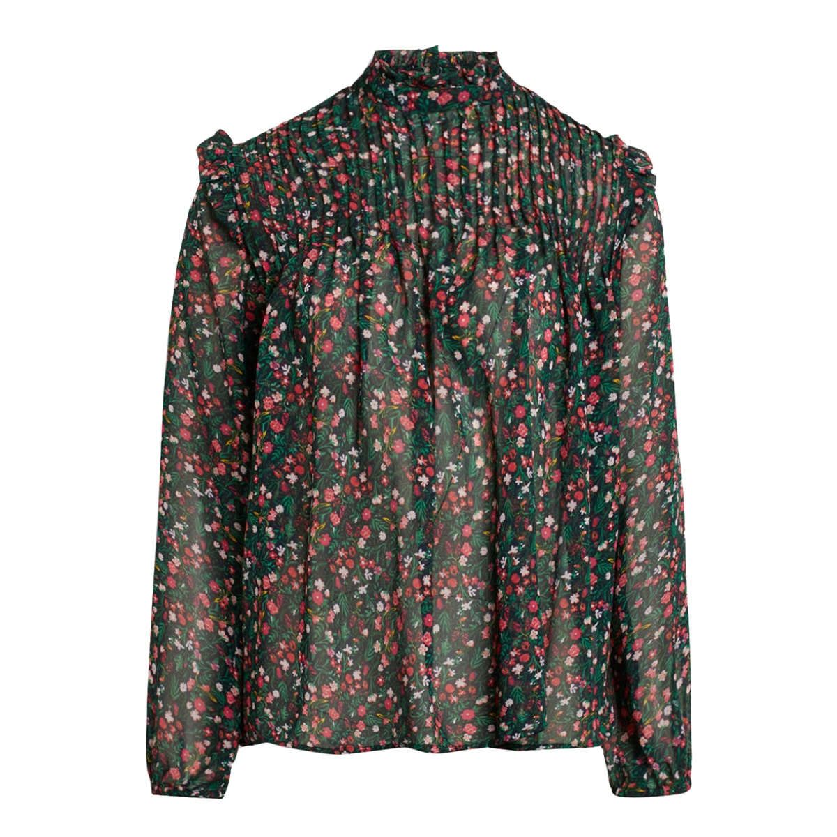 aima ls sisters point blouse flower