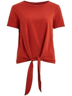 Object T-shirt OBJSTEPHANIE MAXWELL S/S TOP SEASON 23029400 Tandori Spice