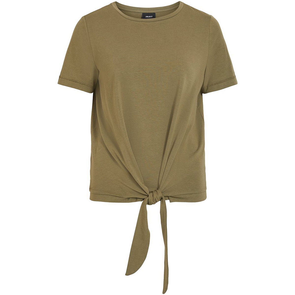 objstephanie maxwell s/s top noos 23029269 object t-shirt burnt olive